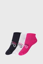3 PACK čarapa za djevojčice FILA Invisible