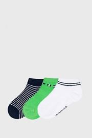 3 PACK niskih čarapa Matcha