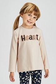 Komplet za djevojčice tajice i majica Mayoral Heart