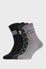 4 PACK ženskih čarapa Calvin Klein Bronx I