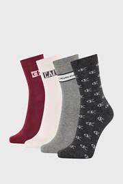 4 PACK ženskih čarapa Calvin Klein Bronx II