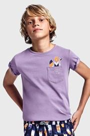 Majica za dječake Mayoral Grape ljubičasta