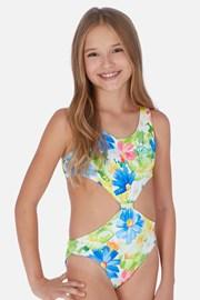 Jednodijelni kupaći kostim za djevojčice Tropical