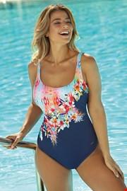 Ženski jednodijelni kupaći kostim Floral II
