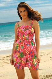 Haljina za plažu Leafy Coral