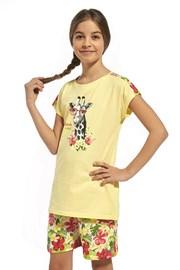 Pamučna pidžama za djevojčice Aloha