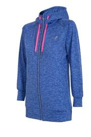 Ženska sportska majica 4F Dry Control Blue melange