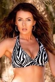 Gornji dio ženskog kupaćeg kostima Borneo Zebra