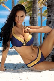 Ženski dvodijelni kupaći kostim Christina plavi