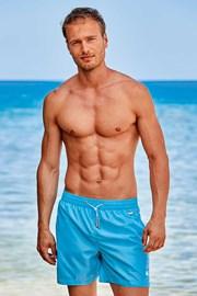 Plave kupaće hlače Basic PLUS SIZE