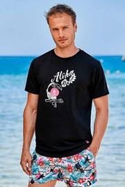Crna majica Hawaii