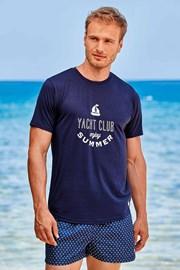 Tamnoplava majica Yacht Club