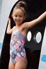 Jednodijelni kupaći kostim za djevojčice Floral