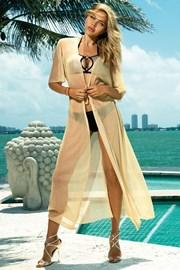 Haljina za plažu Glamour gold