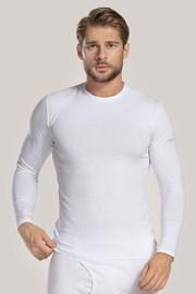 Bijela majica s dugim rukavom