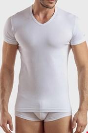 Bijela pamučna majica Max PLUS SIZE