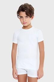 Majica kratkih rukava E. Coveri basic bijela