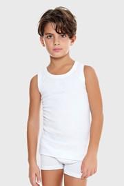 Potkošulja za dječake E. Coveri basic bijela
