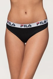 Crne ženske gaćice FILA Underwear String