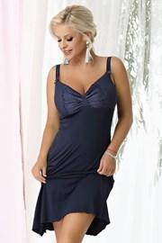 Ženska spavaćica Gina Navy blue