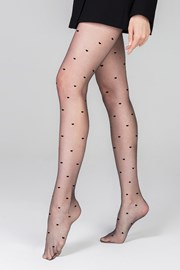 Ženske čarape s gaćicama Heartbeat 13 DEN
