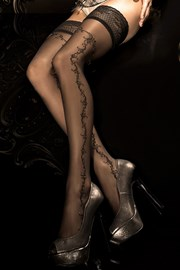 Luksuzne samostojeće čarape HushHush 285