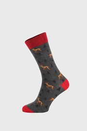 Tamno sive čarape Deer