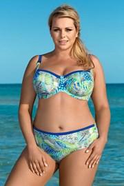 Ženski dvodijelni kupaći kostim Colorful world