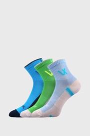 3 PACK sportskih čarapa za dječake VOXX Neonik