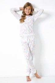 Pidžama za djevojčice s jednorozima
