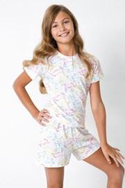Pidžama za djevojčice s jednorozima II