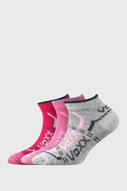 3 PACK niskih čarapa za djevojčice VOXX