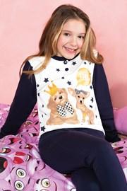 Pidžama za djevojčice Hallo