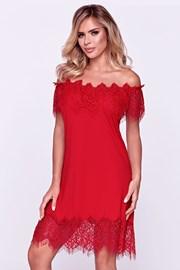 Ženska elegantna spavaćica Sevilla crvena