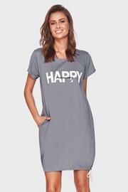 Spavaćica za trudnice Happy mommy siva