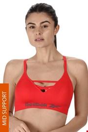Ženski sportski grudnjak Reebok Maryna crveni