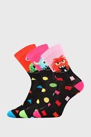 3 PACK čarapa za djevojčice Vanzemaljac