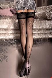 Luksuzne čarape s podvezicama V collection 241