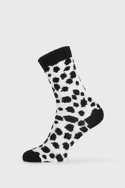Ženske čarape BlackWhite bijele