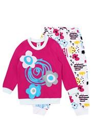 Pidžama za djevojčice Flower Rose