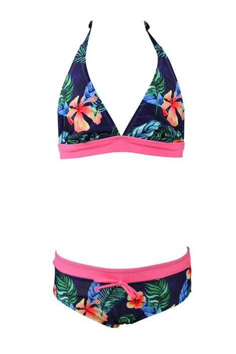 Dvodijelni kupaći kostim za djevojčice Flower