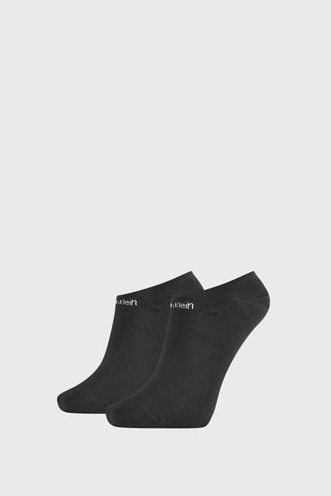 2 PACK ženskih čarapa Calvin Klein Leanne crne