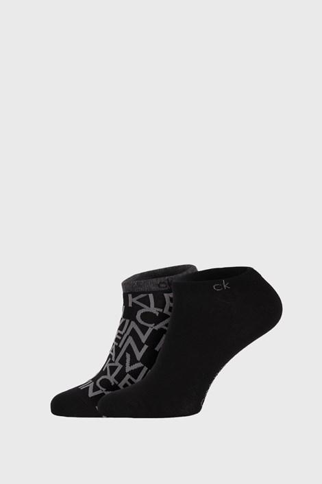 2 PACK crnih čarapa Calvin Klein Deangelo