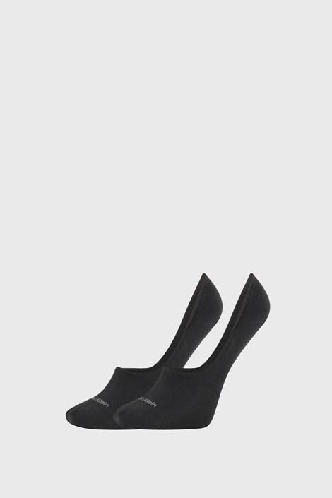 2 PACK ženskih čarapa Calvin Klein Jessica crne