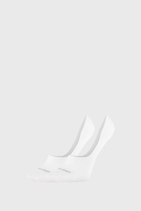 2 PACK ženskih čarapa Calvin Klein Jessica bijele
