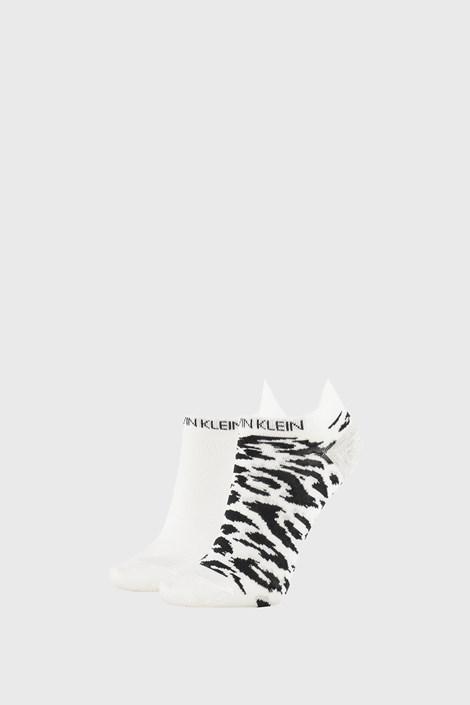 2 PACK ženskih čarapa Calvin Klein Libby bijele