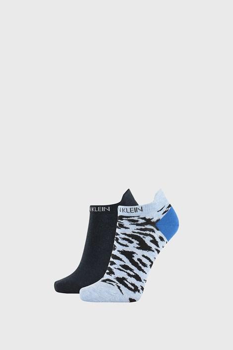 2 PACK ženskih čarapa Calvin Klein Libby plave