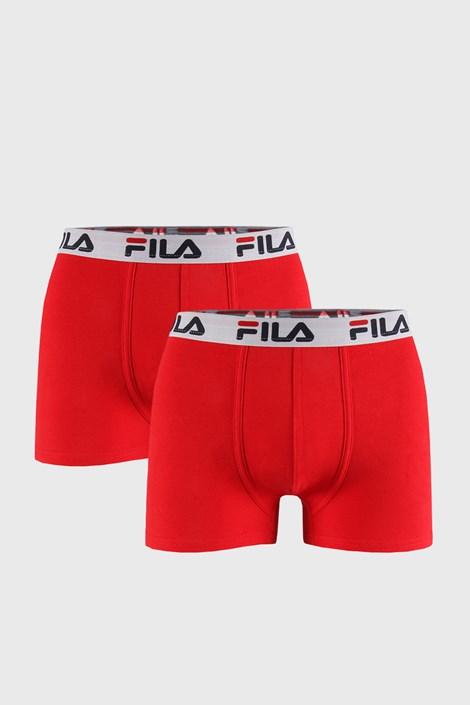 2 PACK crvenih bokserica FILA