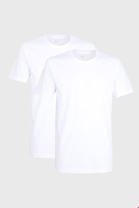 2 PACK bijelih majica kratkih rukava bugatti O-neck