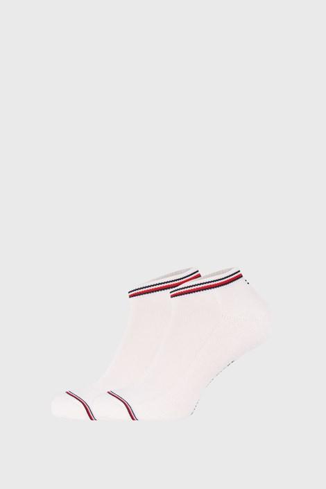 2 PACK bijelih čarapa Tommy Hilfiger Iconic Sneaker